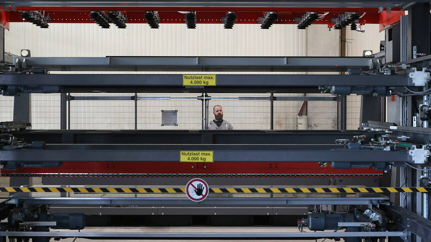 Automation helps Haslach increase the production output of its fiber laser cutting systems.